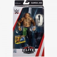 SAMOA JOE ACTION FIGURE MATTEL WWE ELITE 56 MOC MAINAN TOY