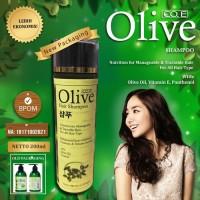 [ Shampoo Olive ] Olive Hair Shampoo Korea BPOM Original