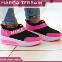 Sepatu Kets Nike Slip On High Untuk Wanita Cewek Perempuan Grade Ori