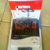 Paket Thermostat Mesin Tetas dan Higrometer HTC1
