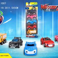 WATCH CAR 1007 Pullback ISI 5 Mainan