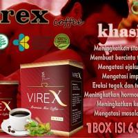 herbal stamina KOPI VIREX - meningkatkan stamina & vitalitas original
