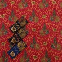 KK154 Kain Batik Katun Bahan Untuk Rok Lilit Murah Bawahan Kebaya