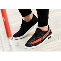 Sepatu pria Yezi Boost 350 sepatu olahraga sepatu slip on