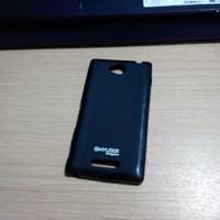 Case Sony Xperia C TPU Jelly Case Softcase Black Matte