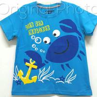Baju kaos karakter anak laki-laki oshkosh deep sea explorer 7-10
