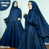 Gamis / Baju / Pakaian Wanita Muslim New Mozza Syari