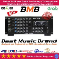 POWER SPEAKER AMPLIFIER KARAOKE BMB DA3000PRO ORIGINAL Paling Laris