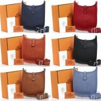 Tas Hermes Evelyne Small Crossbody Seprem Box 2018
