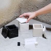 COPERCHIO Marble Box | Box Marmer Dengan Tutup