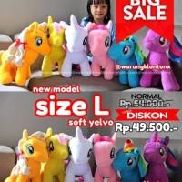 Jual Boneka My Little Pony Size L (Large) Soft Yelvo Murah