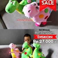 Boneka Baby Dino Dinosaurus Rattle/Krincingan Yelvo Lucu Berkualitas