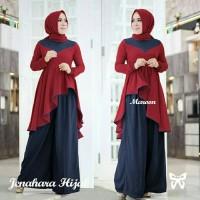 Gamis / Baju / Pakaian Wanita Muslim Jenahara Syari