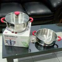 Panci Kukus Serbaguna Food Steamer *Ram Armalia*