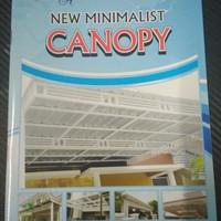 Buku katalog tralis khusus canopy minimalis modern C buku kecil