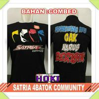 Baju Kaos Distro Satria Fu 150 4batok Club Komunitas Pria Wanita