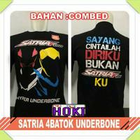 Baju Kaos Distro Satria Fu 150 4 batok full Club Komunitas Pria Wanita