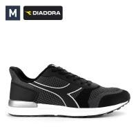 Jual Sepatu Diadora Pria Jevier Black Original Murah