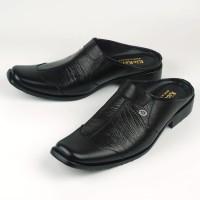 Sendal Slop Pria/ Sepatu Sandal Bustong cowok 8011 Semi Formal Kulit