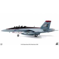 Diecast Pesawat F/A-18F Super Hornet, VFA-41 Black Aces 1/72 JC Wings