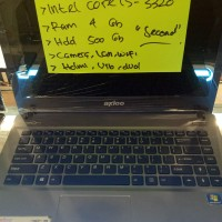 Laptop Axioo Intel Core i 5 3320