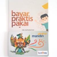 Kartu Emoney Etoll Mandiri Saldo 0 E-toll E-Money - Garuda