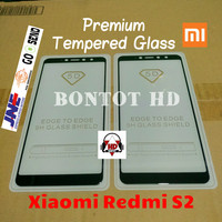 TEMPERED GLASS 5D XIAOMI REDMI S2 S 2 FULL LEM LAYAR HP KACA CURVE 9H