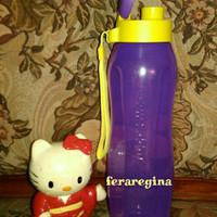 Botol minum eco flip 1L ungu