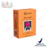 Naturgo BPOM/ Hanasui Naturgo/ Masker Lumpur 100% Original