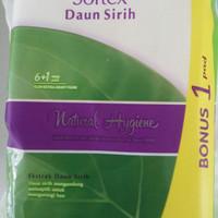 Softex Daun Sirih Natural Hygiene 6Pads - 1bag
