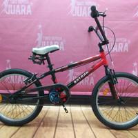WIMCYCLE BMX 20 INCHI BATMAN SEPEDA ANAK COWOK
