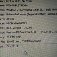 Mainboard laptop Axioo neon MNA