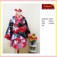 Sewa yukata 100 ribu kimono furisode hakama baju jepang cosplay murah