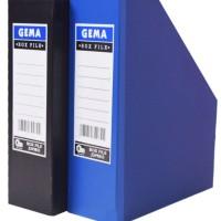 Box File GEMA Matt document keeper and organizer