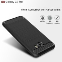 PROMO SAMSUNG C7 C9 PRO SPIGEN LIKE COVER SOFTCASE CARBON HP CASE