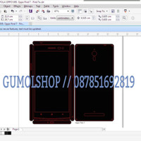 Pola Garskin Lengkap Murah Presisi Laptop Hp Samsung Iphone LG