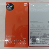 HP XIAOMI REDMI NOTE 5 RAM 3/32 GARANSI RESMI TAM