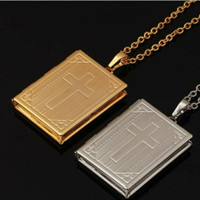 Kalung Model Alkitab Gold / Silver