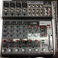 Harga mixer behringer xenyx qx1202usb 4 channel mono 4 stereo usb   Pembandingharga.com