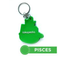 Gantungan Kunci Tokopedia - Pisces