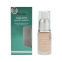 Wardah Exclusive Liquid Foundation No. 01 - Light Beige