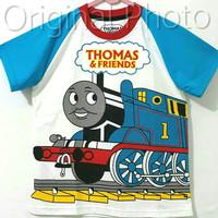 Baju kaos karakter anak laki-laki Thomas 7-10