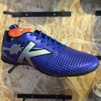 Harga kicosport sepatu futsal kelme star evo royal blue silver original | antitipu.com
