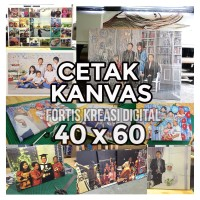Cetak Foto Kanvas/Canvas Photo Print 40 x 60