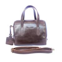 Handbag Darkbrown - Kenes Leather Bag