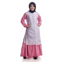 Busana baju dress syari gamis Muslimah Wanita Dewasa Terbaru TS173