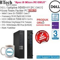 DELL Optiplex 5050MFF (PC ONLY) i5-7500T/8GB/500GB/Win 10 Pro
