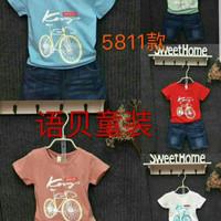 Baju Anak Bayi Balita Import Pakaian Anak Cowok Lucu Baju Setelan Anak