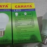 LAMPU LED 5 WATT PUTIH CAHAYA GARANSI 2 TAHUN ASLI PRODUK INDONESIA