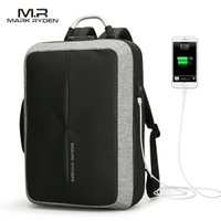 Mark Ryden Tas Ransel Anti Maling dengan USB Charger Port - MR6832